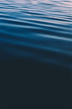 Preview iPhone wallpaper Sea, water, lines