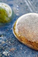 Pedras, água, clara