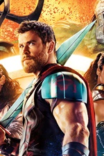 Preview iPhone wallpaper Thor: Ragnarok