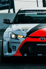Preview iPhone wallpaper Toyota Scion FR-S supercar front view