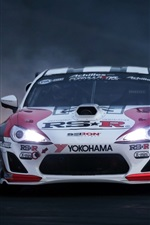 Toyota race car front view
