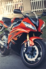Preview iPhone wallpaper Yamaha YZF R6 motorcycle