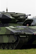 Preview iPhone wallpaper ASCOD infantry fighting vehicle