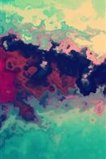 iPhone обои Абстрактный фон с краской