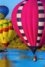 Preview iPhone wallpaper Albuquerque, New Mexico, sport, colorful hot air balloons