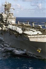 Preview iPhone wallpaper Amphibious assault ship, Navy