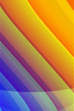Preview iPhone wallpaper Beautiful patterns lines, bright colors