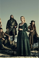 Preview iPhone wallpaper Black Sails, TV series