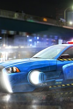 Vorschau des iPhone Hintergrundbilder Blade Runner 2049, Dodge Charger Polizeiauto
