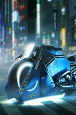 Vorschau des iPhone Hintergrundbilder Blade Runner 2049, Harley Davidson Motorrad