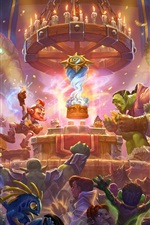 Preview iPhone wallpaper Blizzard, World of Warcraft, hot games