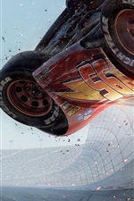 Preview iPhone wallpaper Cars 3, race car accident