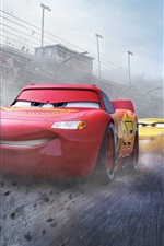 Preview iPhone wallpaper Cars 3, race speed