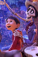 Preview iPhone wallpaper Coco, 2017 Disney movie