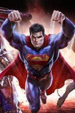 Preview iPhone wallpaper DC comics, Warner Games, Superman