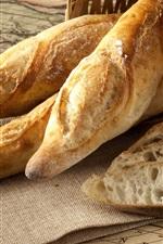 Pão delicioso, cesta