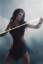 Preview iPhone wallpaper Diana, cosplay, armor, Wonder Woman
