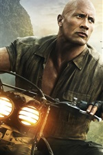 Preview iPhone wallpaper Dwayne Johnson, Jumanji: Welcome to the Jungle