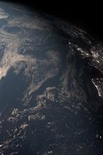 Terra, planeta, escuridão