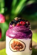 Preview iPhone wallpaper Fruit jam, berries