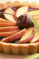 Fruit pie, pear, cherry