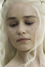 Preview iPhone wallpaper Game of Thrones, A Song of Ice and Fire, Daenerys Targaryen