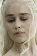 미리보기 iPhone 배경 화면 왕좌의 게임, 얼음과 불의 노래, Daenerys Targaryen