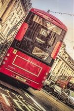 Preview iPhone wallpaper London, Regent Street, city, tram