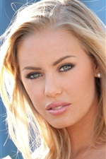 Preview iPhone wallpaper Nicole Aniston 01