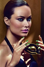 Preview iPhone wallpaper Olivia Wilde 06