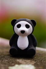 Preview iPhone wallpaper Panda toy