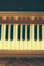 Preview iPhone wallpaper Piano, musical theme, keys