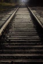 Preview iPhone wallpaper Railroad, light, dark
