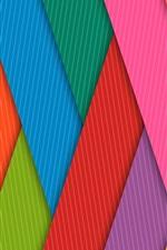 Listras de cor de arco-íris, grade, linhas