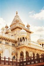 Rajasthan, Jodhpur, Índia, mausoléu