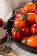 Small tomatoes, vegetables