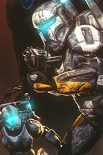 Preview iPhone wallpaper Star Wars: Republic Commando, soldiers, armor