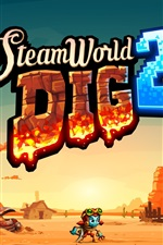 Preview iPhone wallpaper SteamWorld Dig 2