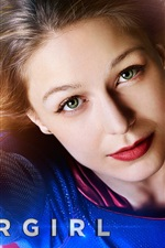 Preview iPhone wallpaper TV Series, Supergirl, Melissa Benoist