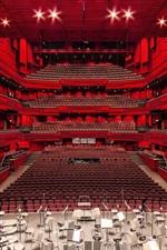 iPhone обои Театр, места, сцена, огни