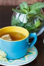 iPhone壁紙のプレビュー 菊の茶2杯