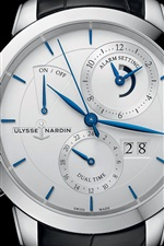 Preview iPhone wallpaper Ulysse Nardin watch