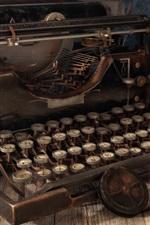 Preview iPhone wallpaper Vintage typewriter, retro