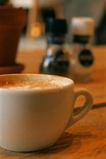 Café copo branco
