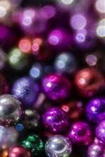 Muitas bolas, decoração