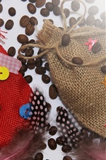 Preview iPhone wallpaper Bags, coffee beans