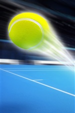Preview iPhone wallpaper Ball flight trajectory, sport, art design