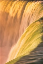 Preview iPhone wallpaper Beautiful waterfall, water stream