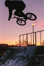 Bike, sport, silhouette