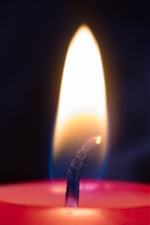 Candlelight, flame